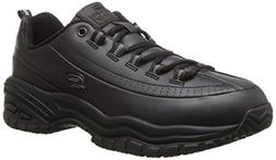 Skechers for Work Women's Soft Stride-Softie Lace-Up, Black,