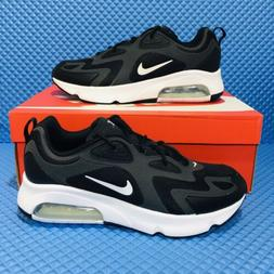 Nike Air Max 200 Men's Running Shoes Black Athletic Sneake