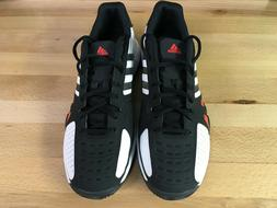 Adidas Barricade Team 2 Tennis Court Shoes Black/White/Red G