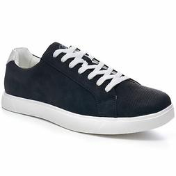 Alpine Swiss Ben Mens Perforated Low Top Sneakers Casual Lac