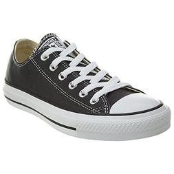 Converse  Chuck Taylor All Star Leather Low Top Shoe, black,