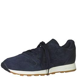 Reebok Classic Suede Sg Mens Blue Suede Athletic Lace Up Run