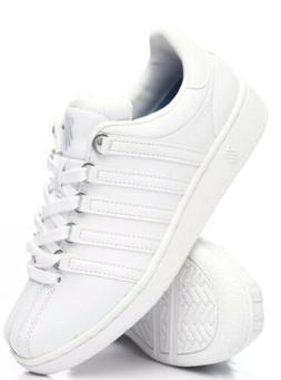 K-Swiss Men's Classic Vintage Updated Iconic Shoe, White/Whi