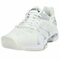 ASICS GEL-Solution Speed Tennis Shoes White - Mens - Size 6