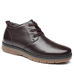 Hilotu Men's Work Ankle Boots Casual Business Series Simple