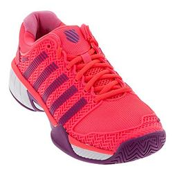K-Swiss-Juniors` Hypercourt Express Tennis Shoes Neon Pink a