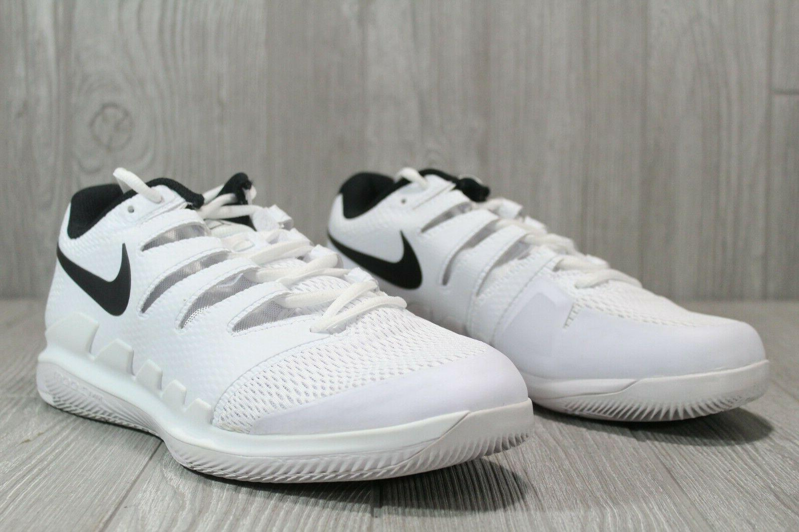 50 Zoom Shoes White Black AH 9066-101 Size