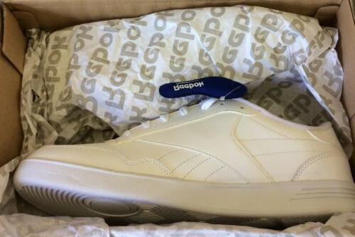club c white mens leather atheletic shoes