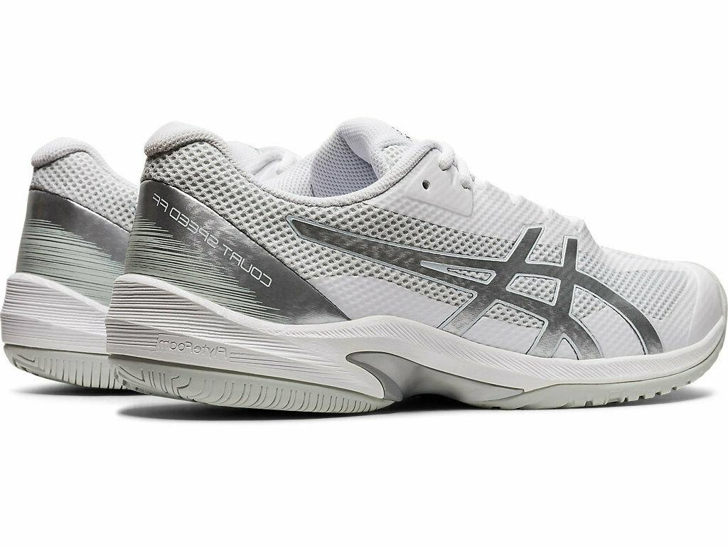 Asics SPEED Men's 1041A092.102 WHITE/SILVER Shoes