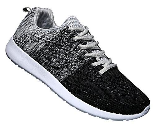 knit breathable casual sneakers lightweight