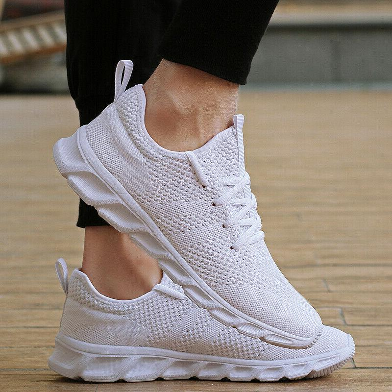 Men's Sneakers Running Walking Trainers Sports Tennis Shoes