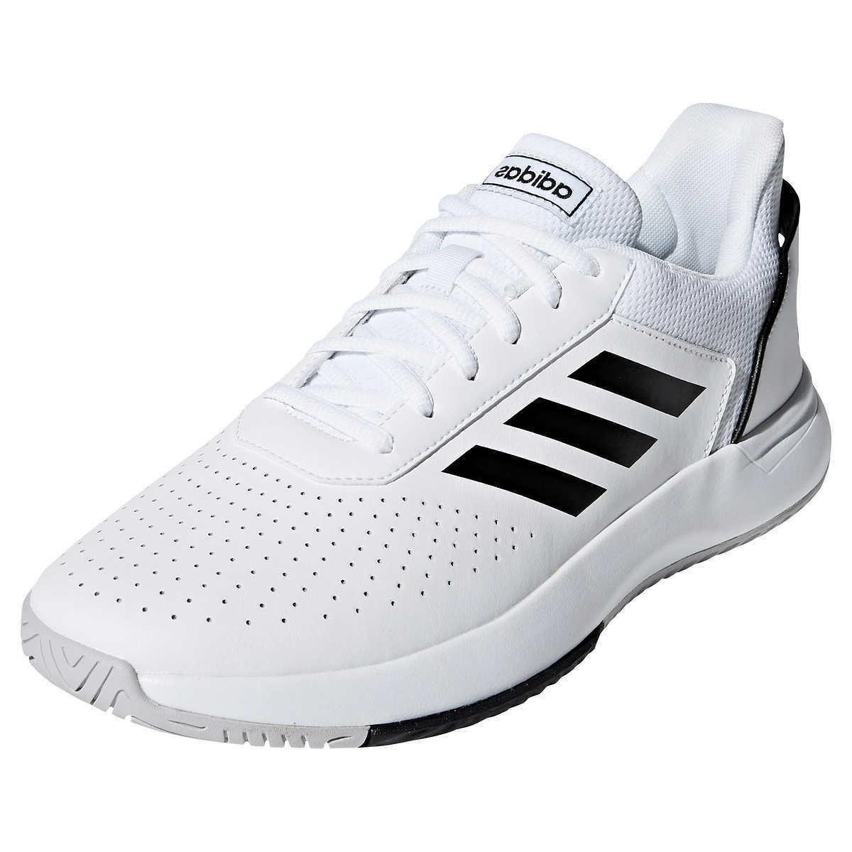 Adidas Black White Courtsmash Shoes - Choose and Color
