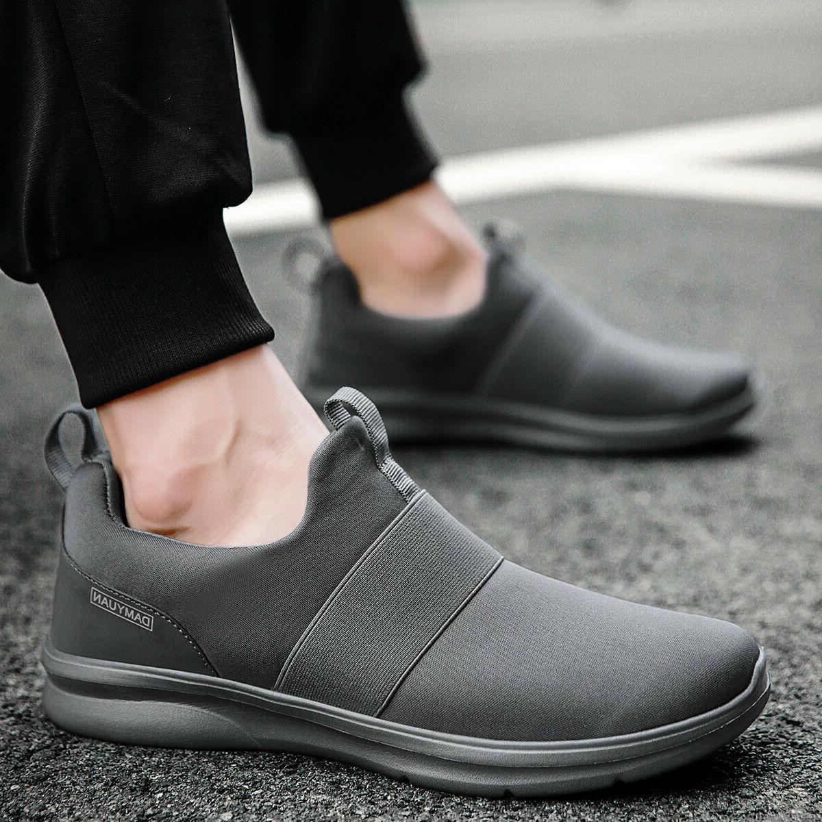 Men's Shoes Slip on Tennis Walking