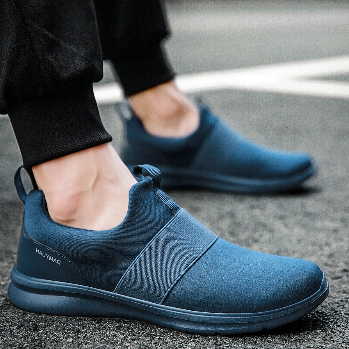 Men's Casual Slip on Athletic Tennis Sneakers