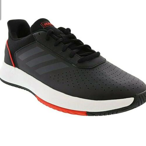 adidas Men's F36716 Courtsmash Tennis black/red size fast shipping