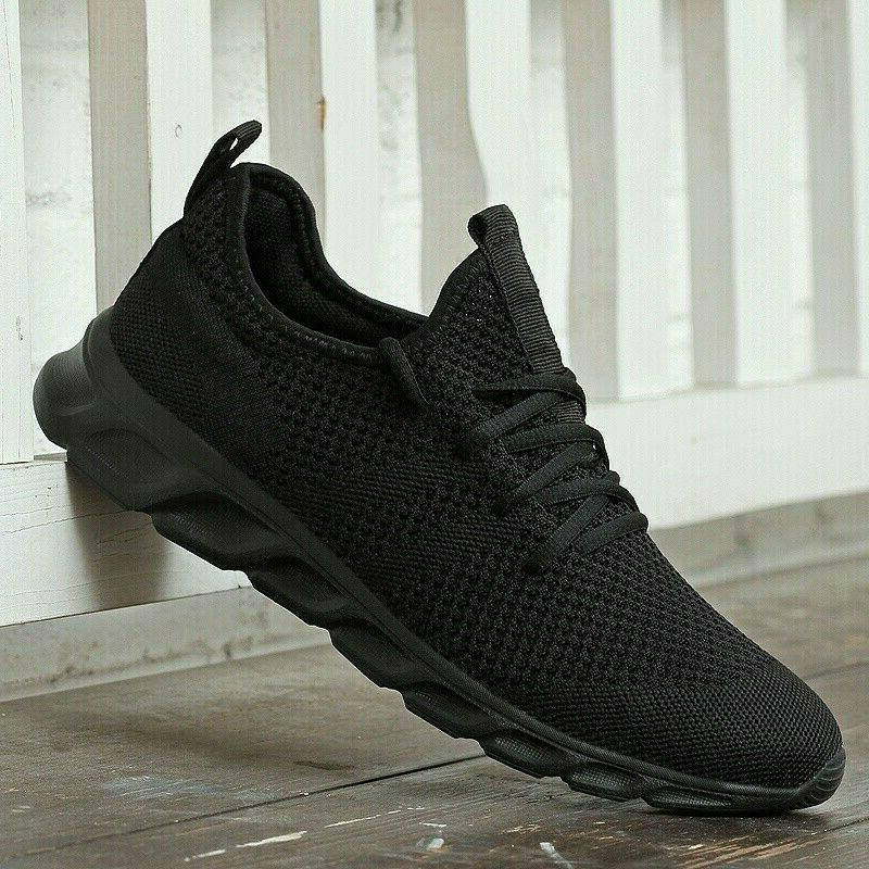 Men's Running Shoes Breathable Athletic Tennis Walking Gym