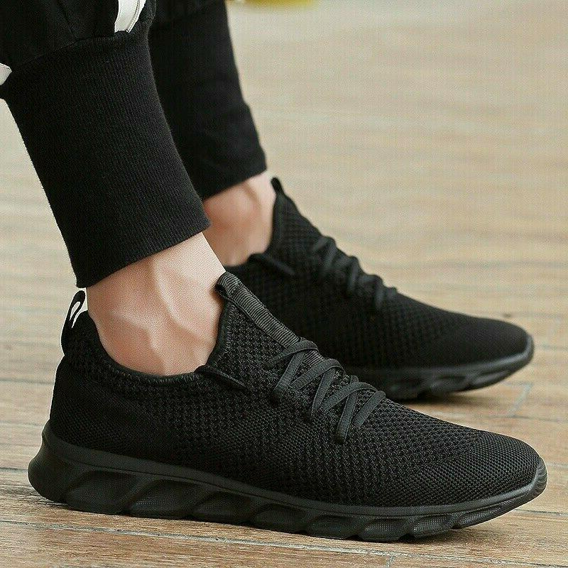 Men's Running Shoes Breathable Athletic Casual Sport Tennis Gym