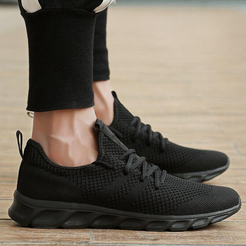 Men's Casual Running Walking Trainers Sports Athletic Tennis Shoes