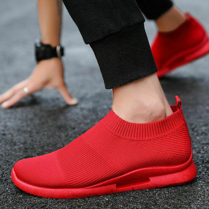 Men's Slip-on Casual Breathable Lightweight Gym