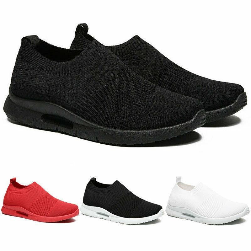 men s slip on casual sneakers breathable