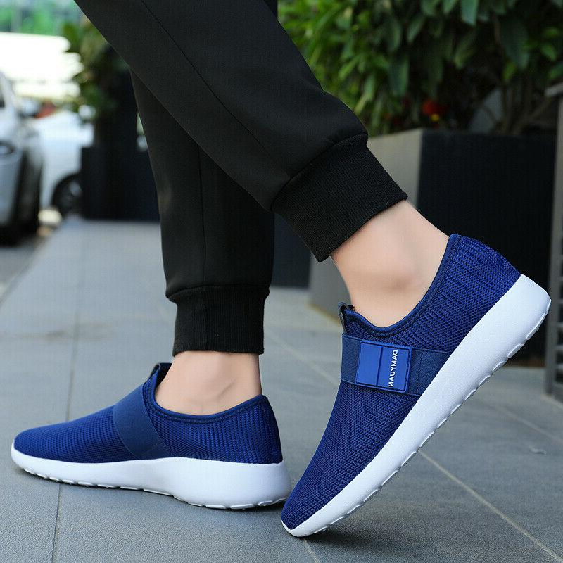 Men's Breathable Fashion Athletic Running Tennis Shoes