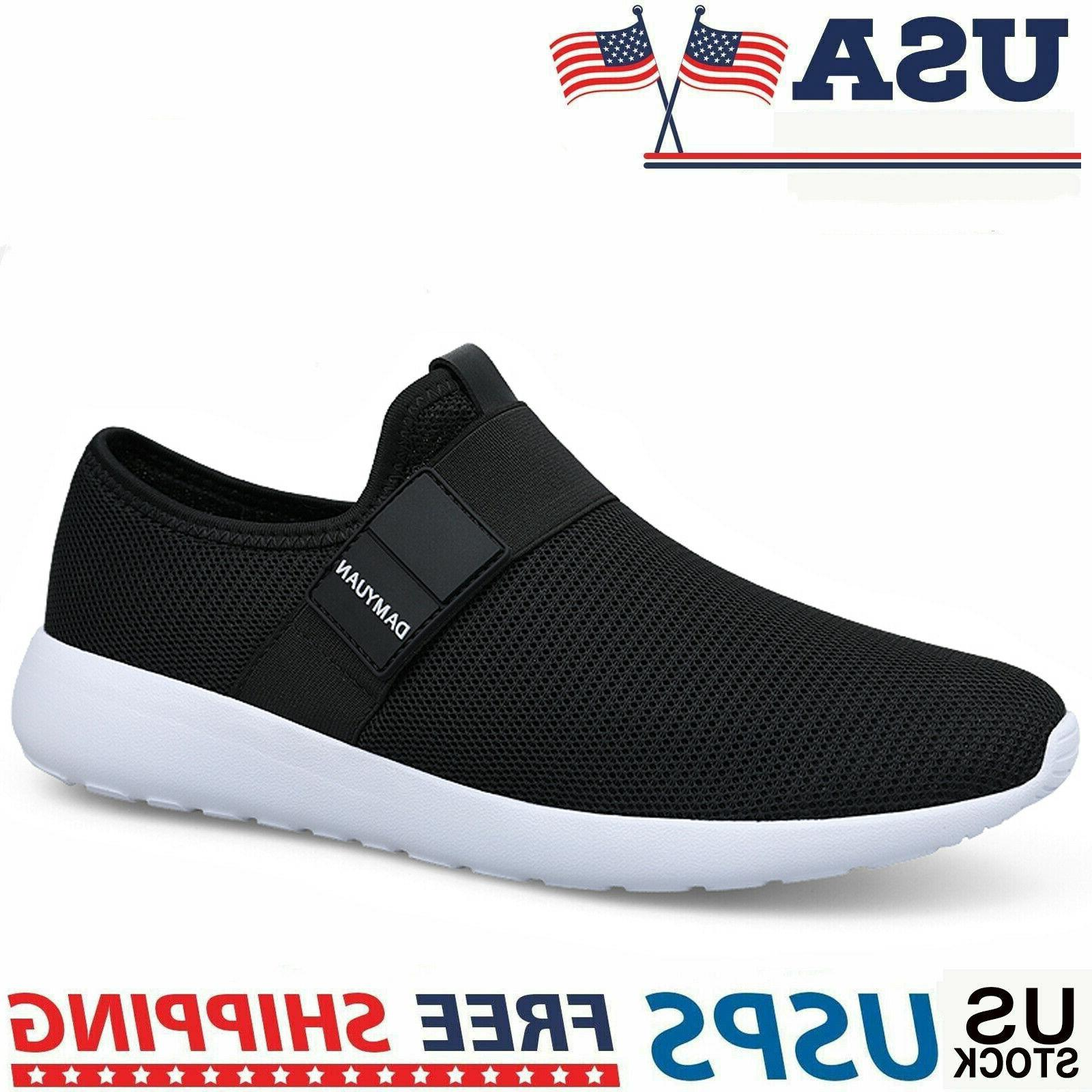 men s sneakers breathable fashion athletic running
