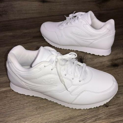 new forerunner white sport tennis shoes sneakers