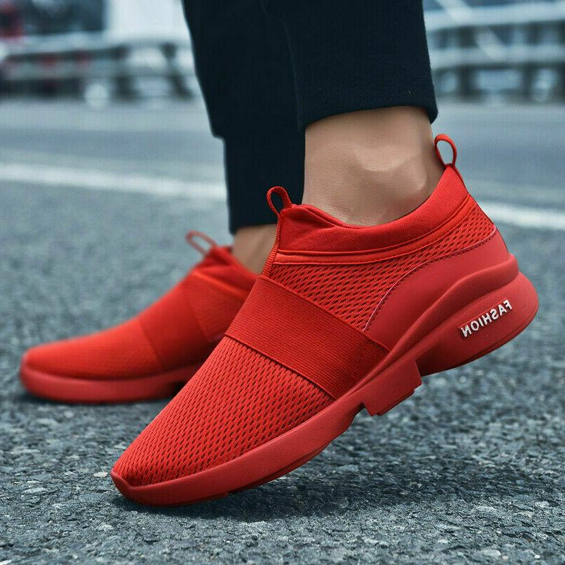 Shoes Men's Casual Breathable Athletic Sneakers Gym