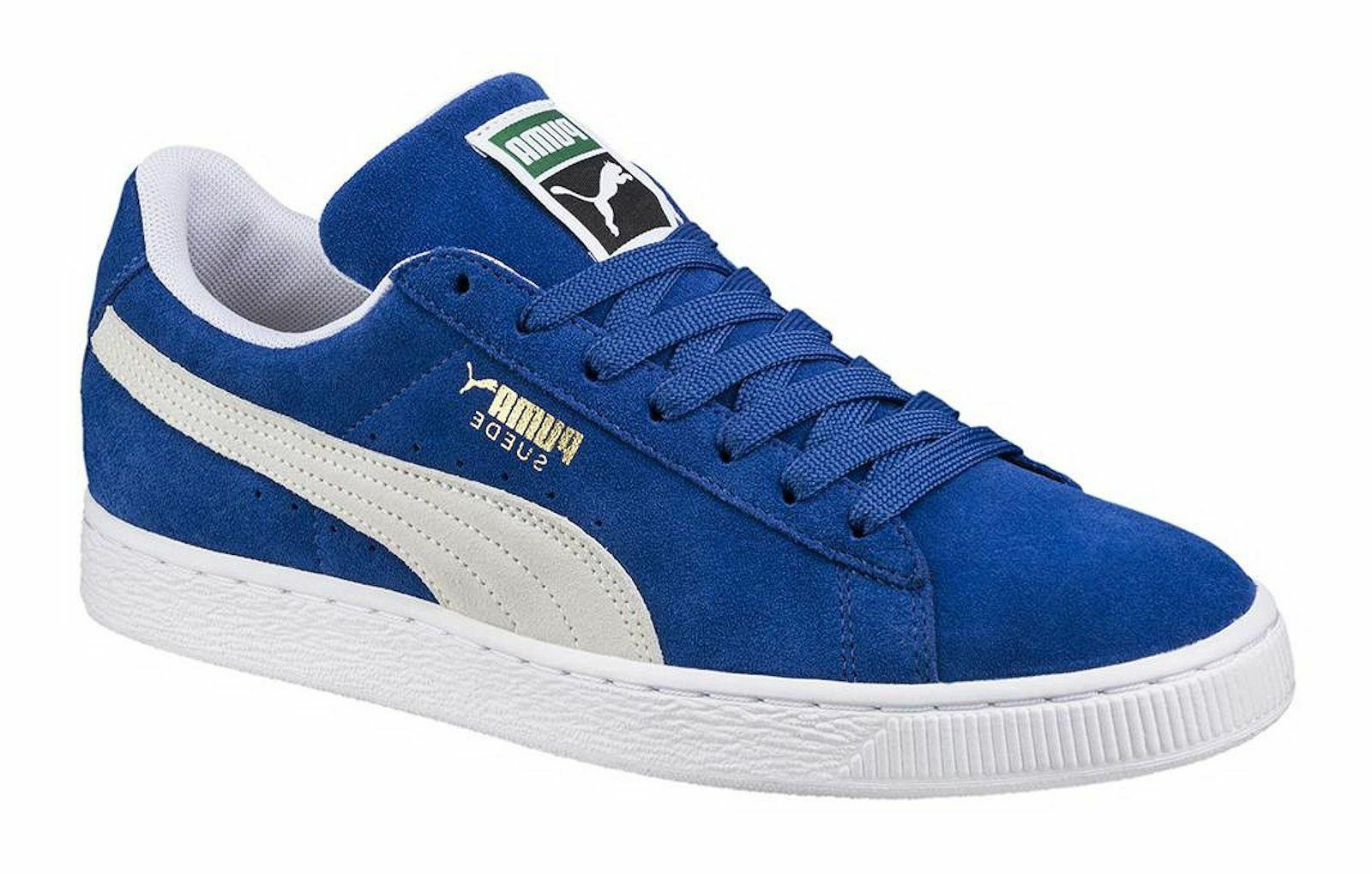 PUMA Suede Olympian Blue, White Mens Sneakers Tennis Shoes 3