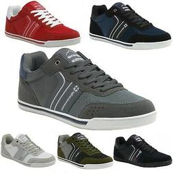 Alpine Swiss Liam Mens Fashion Sneakers Suede Trim Low Top L