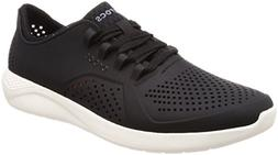 Crocs Men's LiteRide Pacer, black/white, 11 M US