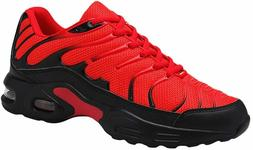 Men Air Cushion Running Tennis Shoes Trail Lightweight