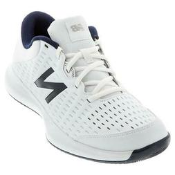 New Balance Men`s 696v4 D Width Tennis Shoes White and Pigme