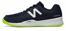 New Balance Men's 896V2 Tennis Shoes Navy With Yellow