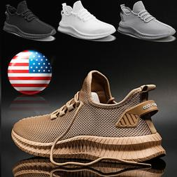 Men's Athletic Jogging Sports Tennis Sneakers Gym Outdoor Ca