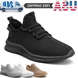 Men's Athletic Sneakers Lightweight Running Jogging Tennis S