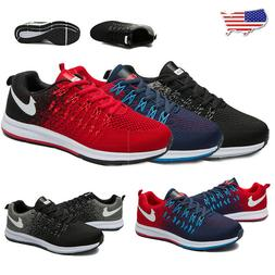 Men's Running Tennis Breathable Shoes Sports Casual Walking