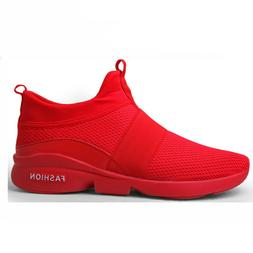 Men's Running Shoes Casual Lightweight Breathable Athletic T