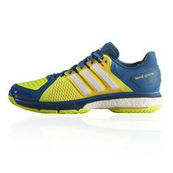 adidas Mens Energy Boost 3 Tennis Shoes Blue Yellow Sports T