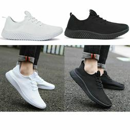 Mens Fly-knit Sneakers Breathable Running Tennis Athletic Ca