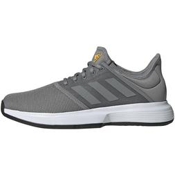 Mens Adidas GameCourt Grey Sport Tennis Athletic Court Shoes