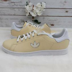 Adidas Mens Stan Smith Athletic Shoes Yellow BD7438 Tennis 2
