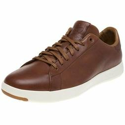 New MENS COLE HAAN TAN GRANDPRO TENNIS LEATHER SHOES