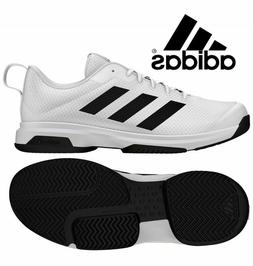 NEW  Adidas Mens Tennis Shoes Game Spec Athletic Sneaker Whi