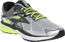 Brooks Men's Ravenna 7 Silver/Nightlife/Black Size 10