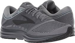 Brooks Men's Revel Grey/Ebony/Black 11 D US