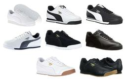 Puma Roma All Black, Black, White, Grey, Navy Gum Sneakers T