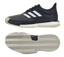 adidas Sole Court Boost Clay Men's Tennis Shoes Black Racket