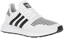 adidas Men's Swift Run Shoes,white/core black/medium grey he