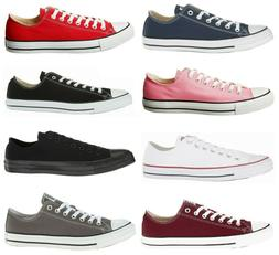 Converse Unisex Chuck Taylor All Star Low Top Sneaker Shoe